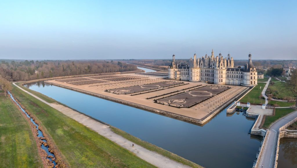 Château de Chambord in the Loire Valley.
