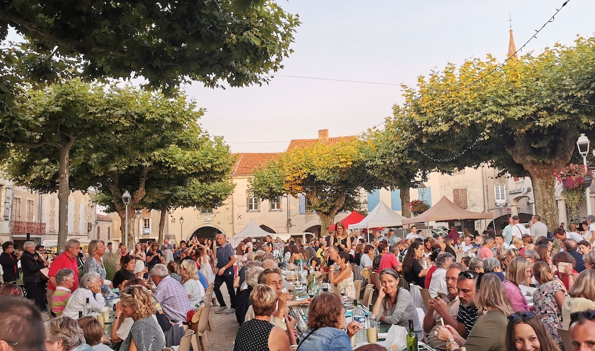 Sos Night Market in Gascony