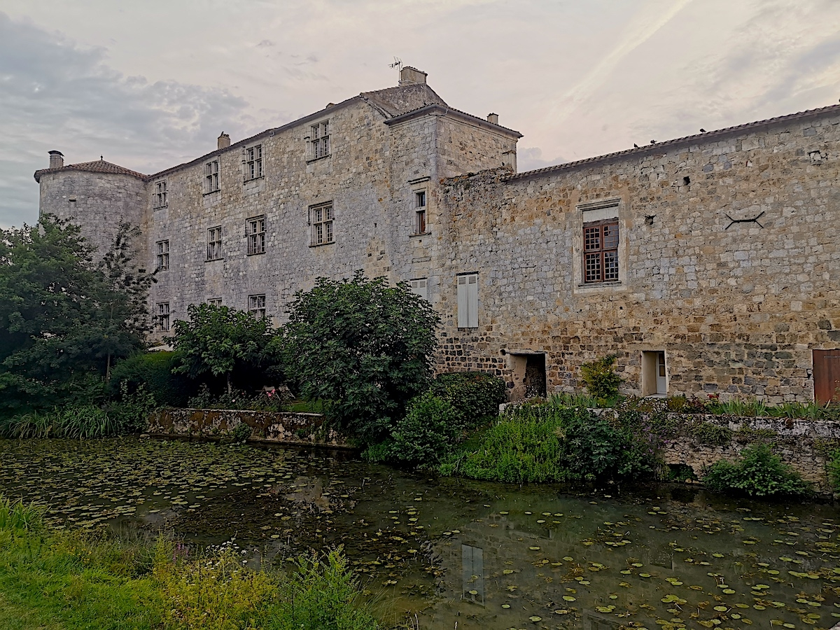Fourcès village in Gascony