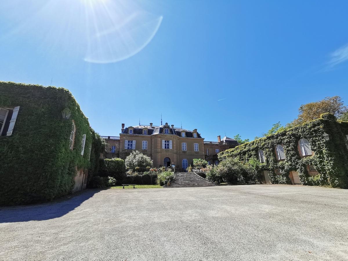 Château de Larroque in Gascony