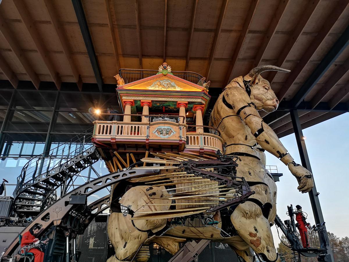 The Minotaur at La Halle de la Machine