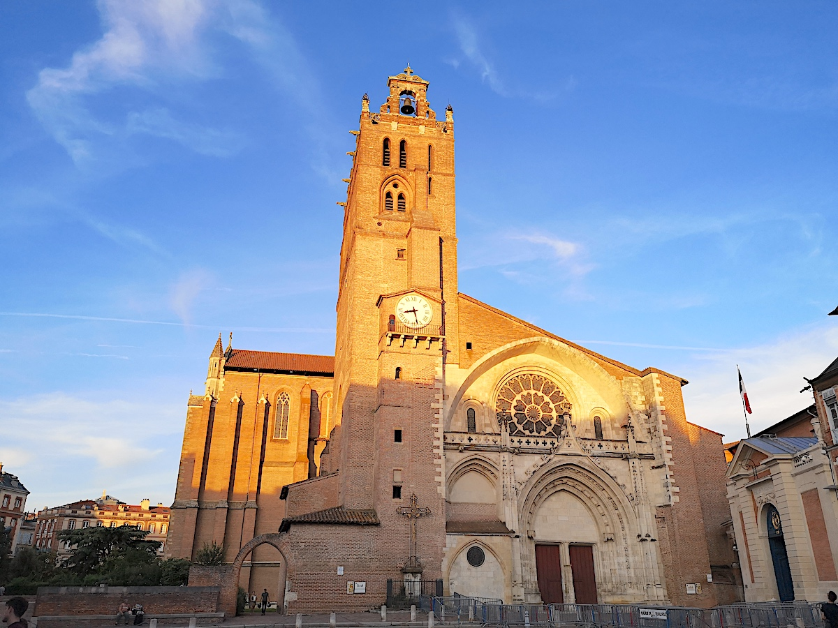 Cathedral Saint-Étienne in Toulouse