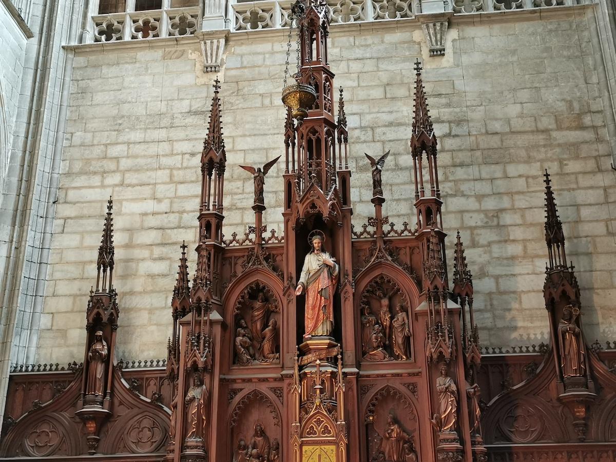 Cathédrale Sainte-Croix d'Orléans.